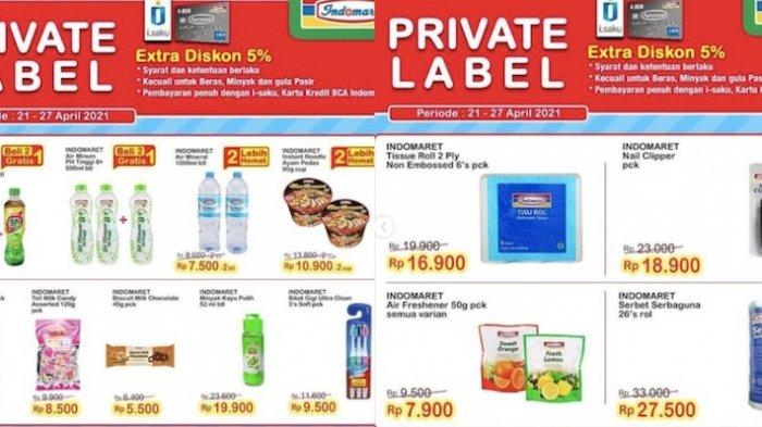 Promo Indomaret privat Label 21-27 April 2021