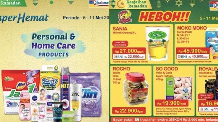 Promo Indomaret Product of The Week 5-11 Mei 2021, Banyak Diskon dari Susu, Minyak, Popok