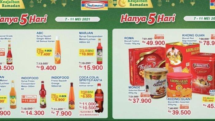 Katalog Promo Indomaret Senin 10 Mei Dapatkan Diskon untuk Kue Kaleng, Aneka Sirup