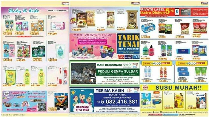 Promo Indomaret Senin 22 Februari Hemat Minyak Goreng, Susu Bayi Hingga Produk Kecantikan