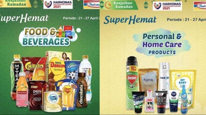 Promo Indomaret Superhemat 21-27 April, Dapatkan Kebutuhan dengan Berbagai Diskon