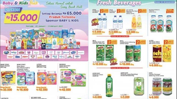 Promo Indomaret Terbaru 20 Januari Dapatkan Diskon Popok Bayi, Susu Bayi, Makanan Kaleng, Snack