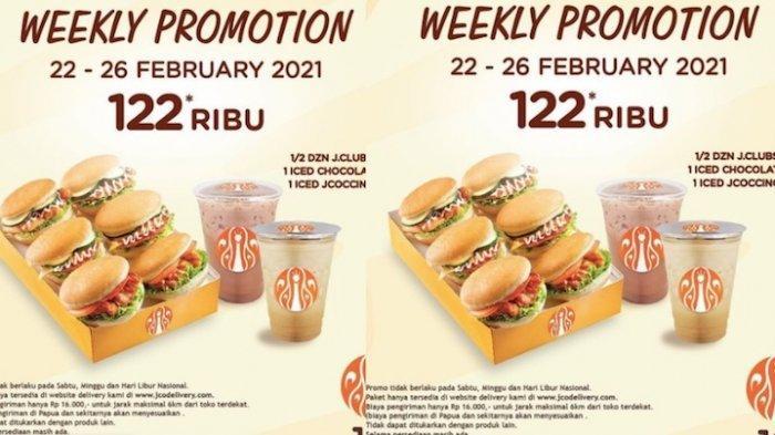 PROMO JCO Hari Ini Dapatkan Diskon Paket Jclubs dan Minuman Harga Rp 122.000