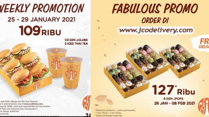 Promo JCO Donat Terbaru Tawarkan Paket Mulai Rp 109 Ribu Sudah Dapat Minuman