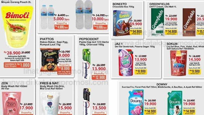 PROMO JSM Alfamart 17-19 September, Hemat Dobel Bimoli 2L, Susu UHT, Sabun Mandi dll