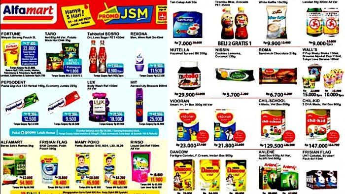 Promo Jsm Alfamart 24 28 Juli Diskon Minyak Goreng Sampai Popok Bayi Hingga Susu Kemasan Warta Kota