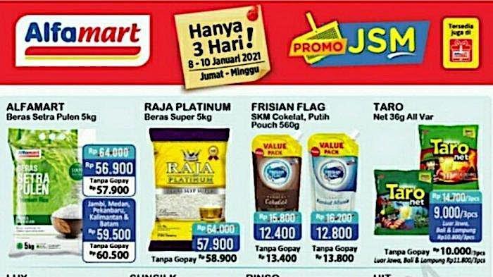 Katalog Promo JSM Alfamart Terbaru Dapatkan Harga Murah Beras 5 Kg, Minyak 2 L, Susu