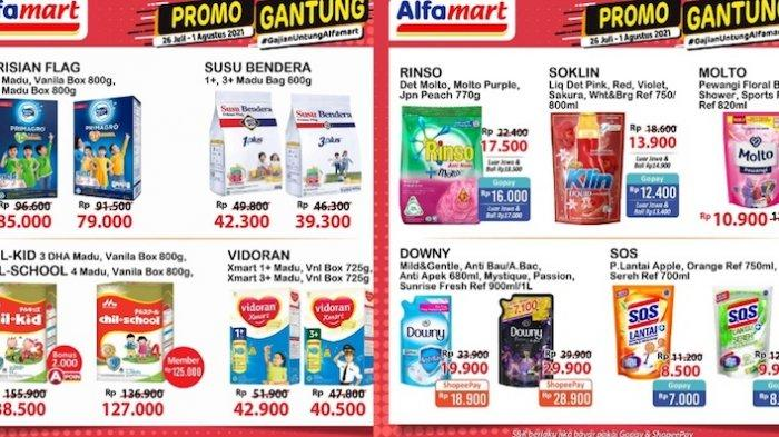 KATALOG Promo JSM Alfamart 30 Juli-1 Agustus Harga Hemat Minyak, Beras, Vitamin, Susu Anak dll