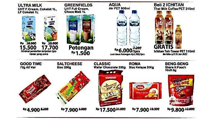 Promo JSM Gantung Alfamart Terbaru Dapatkan Banyak Diskon dari Susu, Kopi, Beras Minyak
