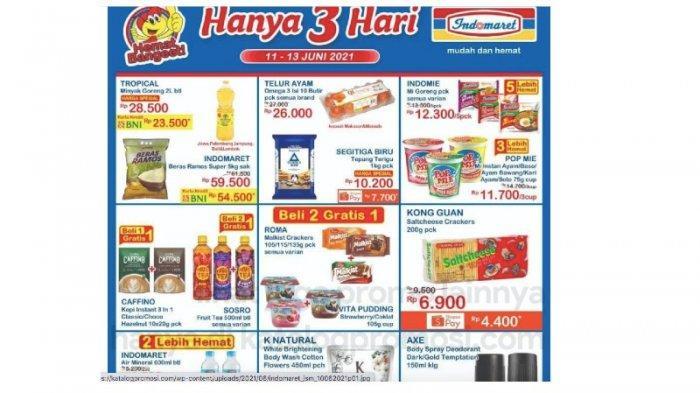 KATALOG Promo JSM Indomaret 11-13 Juni Hemat Beras, Minyak, Telur, Susu, Shampoo
