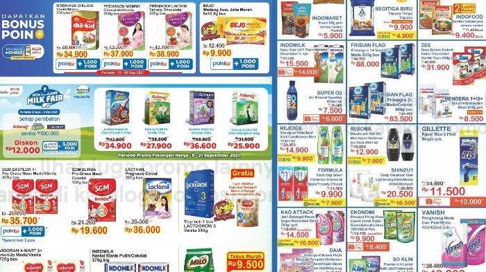 Promo JSM Indomaret 17-19 September Harga Murah Susu Anak, Tropical Minyak Goreng, Aneka Snack