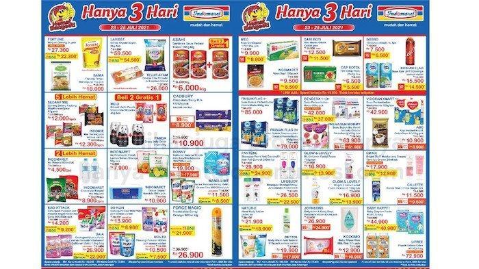 Katalog Promo JSM Indomaret 23-25 Juli, Harga Hemat Beras, Minyak Fortune, Telur, Keju dll