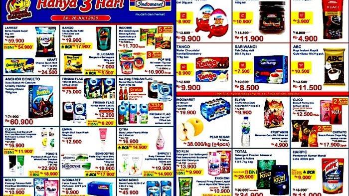 Promo Jsm Indomaret 24 26 Juli Dapatkan Diskon Mulai Dari Snack Sampai Beras 5 Liter Halaman All Warta Kota