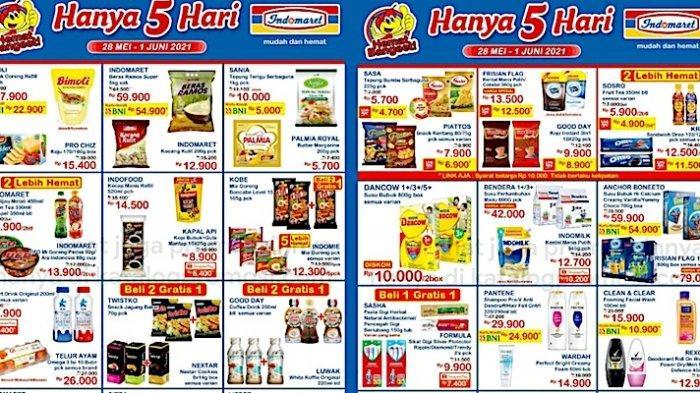 Promo JSM Indomaret 28 Mei-1 Juni Dapatkan Harga Hemat Beras, Minyak Goreng, Kopi, Tepung