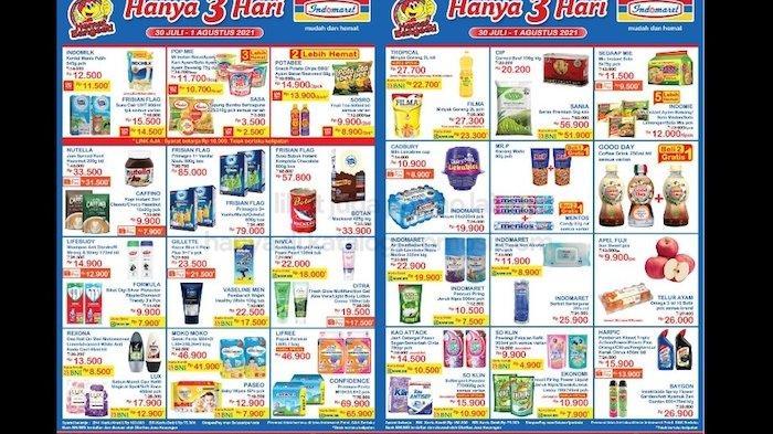 Promo JSM Indomaret 30 Juli - 1 Agustus, Harga Murah Minyak Goreng, Deterjen, Susu, Snack dll