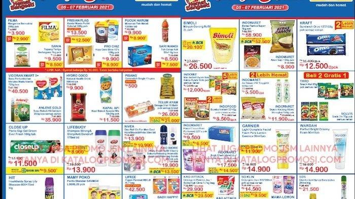 Promo JSM Indomaret 5-7 Februari Harga Hemat Susu Anak, Beras Ramos, Bimoli 2L, Popok Anak