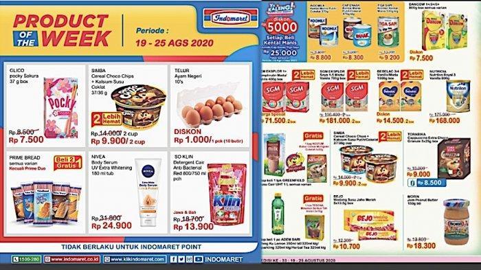 Katalog Promo Jsm Indomaret 20 23 Agustus 2020 Diskon Susu Anak Sampai Aneka Camilan Halaman All Warta Kota