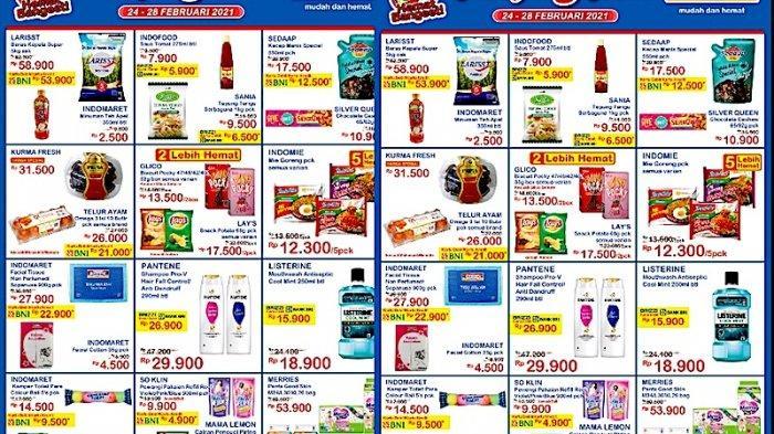 PROMO JSM Indomaret Kamis 25 Februari Harga Hemat Susu, Beras, Minyak Goreng, Aneka Snack