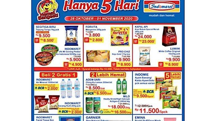 Katalog Promo Indomaret Jsm Dan Tebus Murah 28 Oktober 1 November Minyak Goreng Sampai Susu Warta Kota