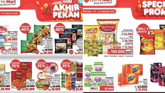 PROMO Lottermart Akhir Pekan Dapatkan Paket Sembako Rp 100 Ribu dari Beras, Minyak, Gula