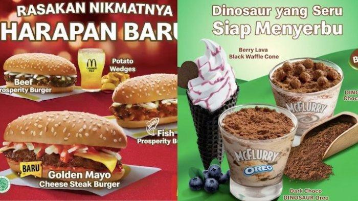 Menu Baru McDonalds Prosperity Burger Mulai dari Rp 59.000 Hingga Es krim Rp 15 Ribuan