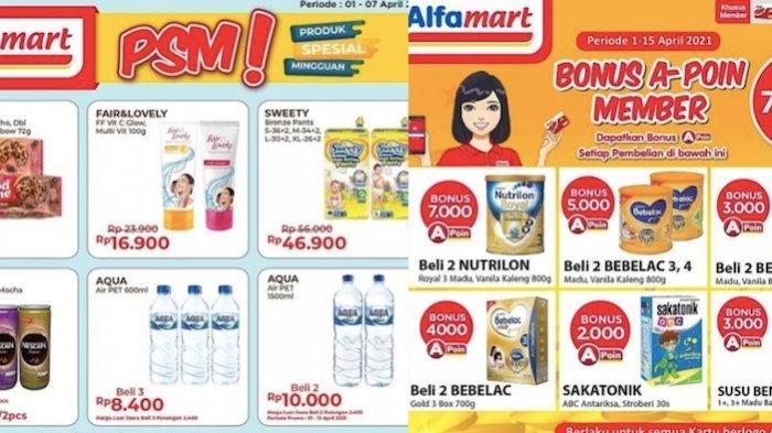 PROMO ALFAMART Kebutuhan Ramadhan Hemat untuk Susu Hingga Diskon 50 Persen