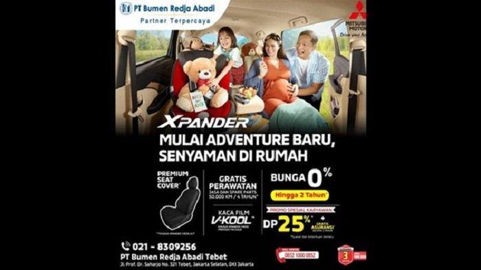 Yuk, Berpetualang Bersama Keluarga dengan Mitsubishi Xpander, Ini Beragam Promo Menarik