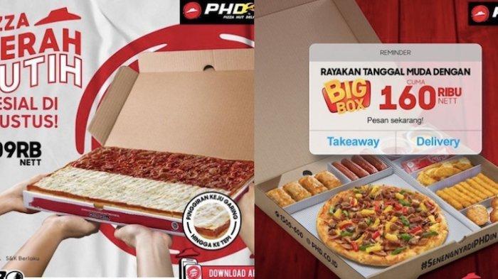 Promo Pizza HUT Delivery Agustus dari Paket My Box, Pizza Merah Putih dari Harga 35 Ribuan