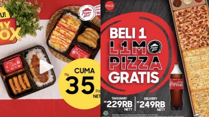 PROMO Pizza HUT Akhir Pekan, Dapatkan Gratisan hingga Beli 4 Pizza Rp 100.0000