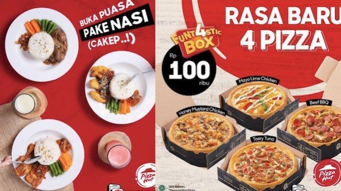 Promo Pizza HUT Hari Ini buat Buka Puasa dari Menu Nasi Sampai Gratisan Kopi