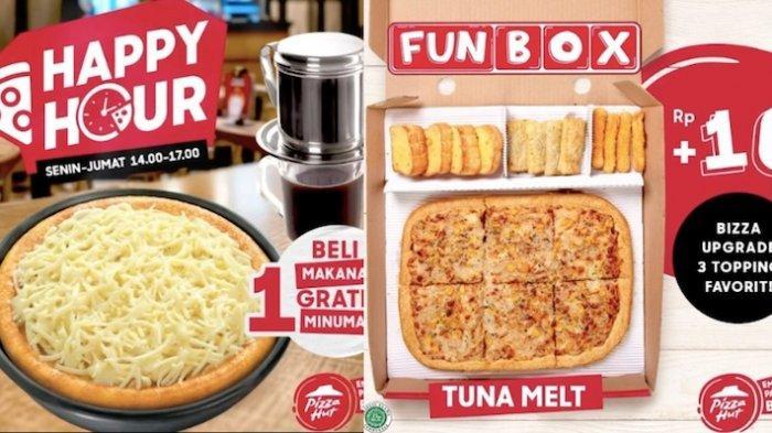 Promo Pizza Hut Terbaru di Bulan Januari Ada Happy Hour Hingga Paket Pizza Murah