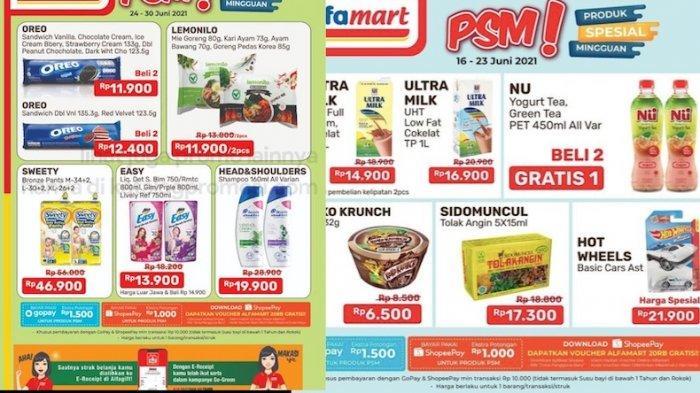 PROMO PSM Alfamart  24-30 Juni Lebih Hemat dari Biskuit, Sampo, Popok, Mi