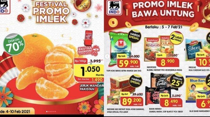 Promo Imlek Superindo Minggu 7 Februari Dapatkan Diskon Sampai 40 Persen Buah, Minyak, Susu, Nuget