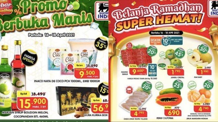 Promo Superindo Mingguan, 18 April Dapatkan Diskon Hingga 35 Persen dari Beras, Buah, Ayam
