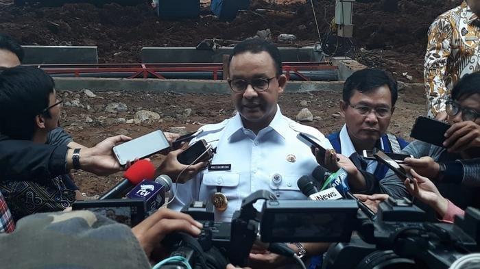 Disuruh Buktikan oleh Menhub, Anies Baswedan Kini Bilang Banjir Akibat Kurang Pompa, Bukan LRT