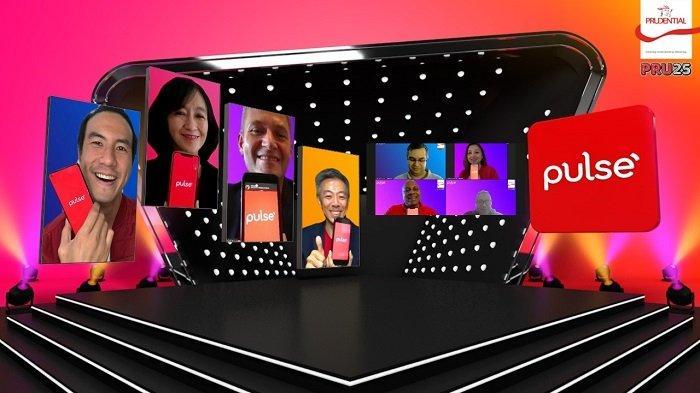 Peluncuran sejumlah fitur baru aplikasi Pulse by Prudential (Pulse) yang digelar secara virtual di Jakarta, Kamis (12/11/2020).