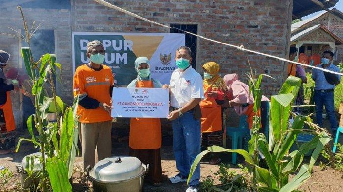 Gandeng Baznas, Ajinomoto Berikan Bantuan Dana Tunai dan Produk untuk Korban Bencana Alam NTT