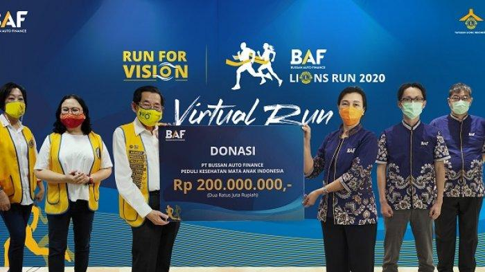 BAF Lions Run 2020: Antusiasme Masyarakat Tetap Tinggi Meski Ganti Format Jadi Virtual Run