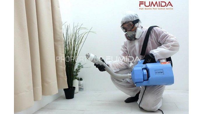 Jasa Penyemprotan Disinfektan di Bandung? FUMIDA Siap Melayani