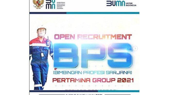 Lowongan Kerja PT Pertamina Persero, Lima Perusahaan Membuka Pendaftaran BPS, Ini Link dan Syaratnya