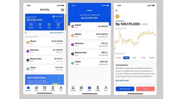Aplikasi Pintu Beri Kemudahan dan Kenyamanan bagi Pengguna Menuju Dunia Investasi Crypto