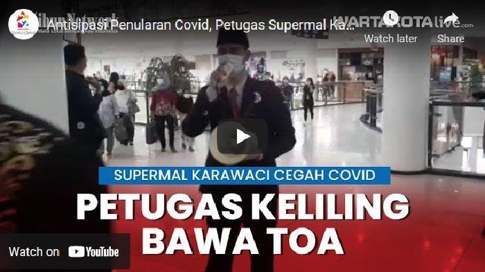VIDEO Antisipasi Supermal Karawaci Terhadap Antusiasme Pengunjung Jelang Lebaran