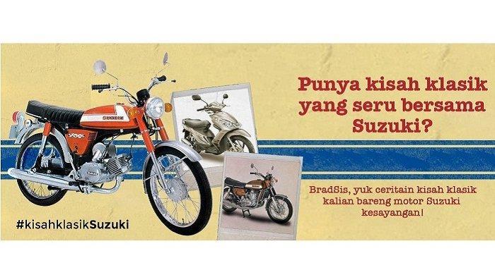 Punya Nostalgia dengan Mobil atau Motor Suzuki? Yuk, Ikutan Kisah Klasik Suzuki! Ini Ragam Hadiahnya