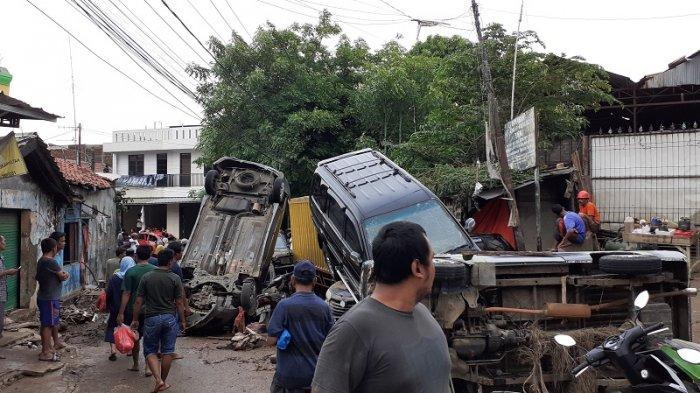 Empat Kali Tanggul Jebol Jadi Penyebab Perumahan Pondok Gede Permai Bekasi Diterjang Banjir Terparah
