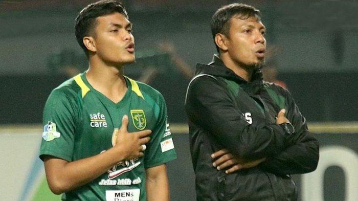 Rachmat Irianto dan Bejo Sugiantoro dalam satu tim di skuad Persebaya sebagai pemain dan asisten pelatih