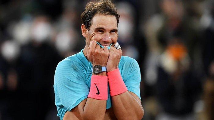Rafael Nadal Samakan Rekor Roger Federer 20 Kali Juara Grand Slam