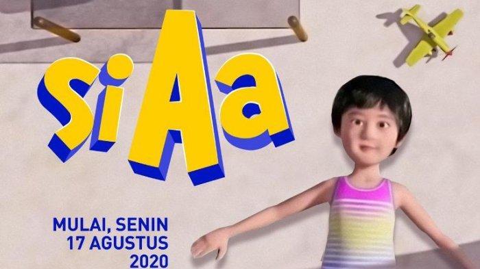 Putra Raffi Ahmad dan Nagita Slavina Rayakan Ulang-tahun ke-5, ANTV Putar Serial Kartun Anak 'Si Aa'
