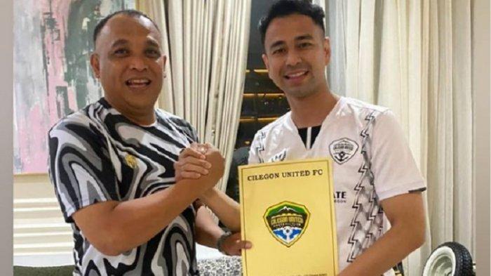 Raffi Ahmad mengakuisisi Cilegon United.