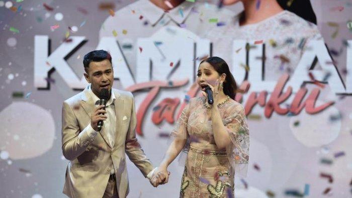 Progam Kamulah Takdirku sebagai perayaan 6 tahun pernikahan Raffi Ahmad dan Nagita Slavina ditayangkan ANTV pada Minggu (18/10/2020).