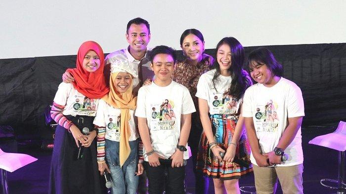 Raffi Ahmad dan Nagita Slavina Luncurkan Album Lagu Anak 'Mimpiki Menjadi Nyata'